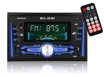 BLOW AVH 9610 - Autorádio 2 DIN,Bluetooth, MP3, FM