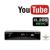 GOLDEN MEDIA MANIA 820, DVB-T2 Full HD HEVC H.265, Youtube