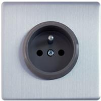 Govena Single electric socket, with earthing pin
