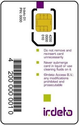 f5724507b Karta Standard HD SKYLINK Irdeto M7 -