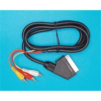 Kabel SCART (OUT) - 3CINCH RCA (IN)