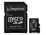 Kingston 64GB microSDXC Canvas Select Plus A1 CL10 100MB/s + adapter