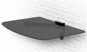 OPTICUM polička pod TV 300x250x5mm