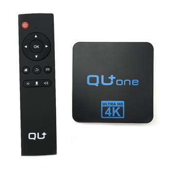 QU+ ONE UHD 4K MEDIA PLAYER ANDROID H.265/HEVC